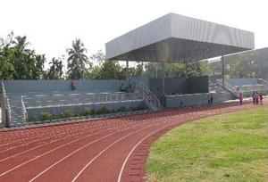 保亭什岭中心学校项目(运动场塑料跑道)
